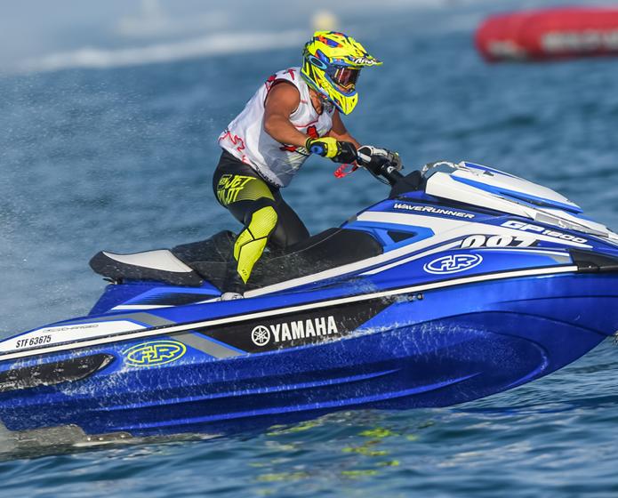 Jet-ski : Originaire de la ville de Sète, Thomas Favolini termine second du championnat d'Europe !